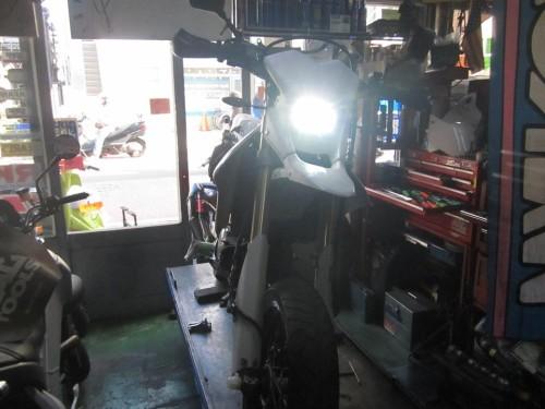 DR-Z400 リアサスペンション オーバーホール & エンジン オーバーホール
