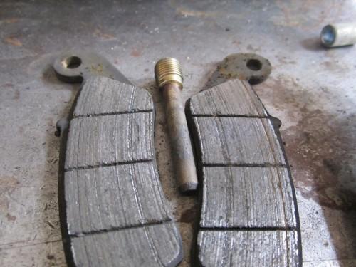 カワサキ KLX250 前後タイヤ交換 前後ブレーキ オーバーホール